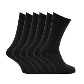 Mens Socks - Pack of 12 (Black)