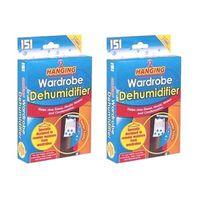 Wardrobe Dehumidifiers Set Of 2