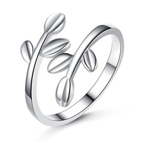 100% 925 Sterling Silver Olive Tree Ring
