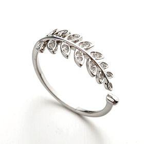 Charming Vintage Leaf Ring by Treasures
