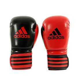adidas 10 Ounce Power 200 Duo Boxing Gloves Shiny