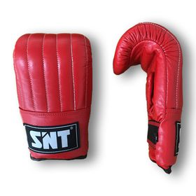 SNT Leather Punching Mitt - Curved