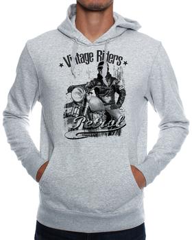 Petrol Clothing Vintage Riders Hoodie