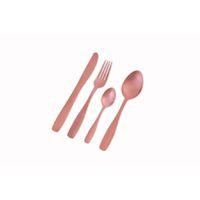 Nicolson Russell Bella Casa 4 Piece Cutlery Set - Matte Rose Gold