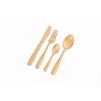 Nicolson Russell Bella Casa 4 Piece Cutlery Set - Matte Gold