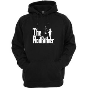 The Rodfather Hoodie-Black
