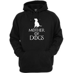 Mother Of Dogs Hoodie-Black