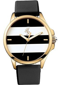 Bad Girl Runway Analogue Ladies Watch - Rose Gold and Black