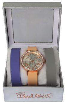 Bad Girl Couture Interchangeable Strap Set - Rose Gold