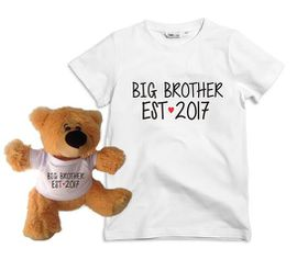 Big Brother EST 2017 kids T-Shirt & Teddy Bear Combo
