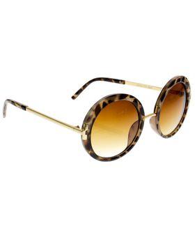 Skye London 60's Round Sunglasses - Tortoise Shell