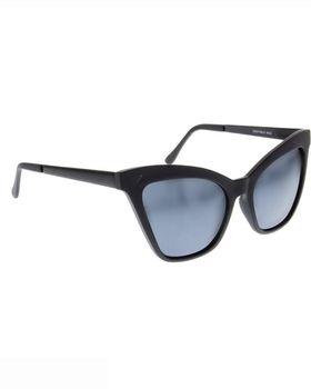 Skye London Cateye Edged Sunglasses - Black
