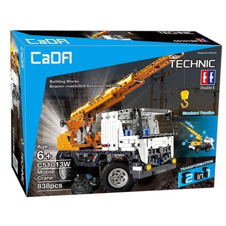 Double Eagle Cada Technic Remote Control Mobile Crane 838 Pieces