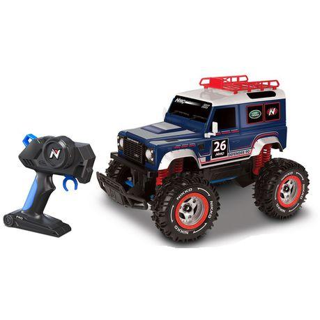 Nikko 1 16 Remote Control Land Rover Defender 90 Buy Online In
