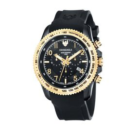 Swiss Eagle Land master Chronograph With 316L Solid Marine Grade Se-9044-05 - Stainless Steel