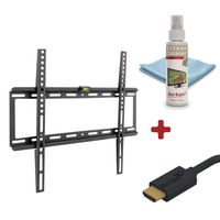 Barkan Fixed & Flat Mount Combo For Screens From 29 Inches To 65 Inches