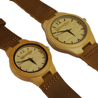 WoodZee For Us Bamboo Couples Watch