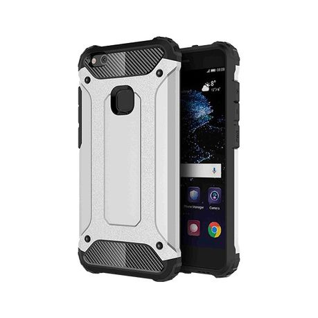 big sale a432f 036c2 Shockproof Armor Hard Protective Case For Huawei P10 Lite - Silver