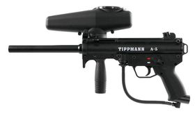 Tippmann A-5 with Response Trigger 0.68 Cal Paintball Marker