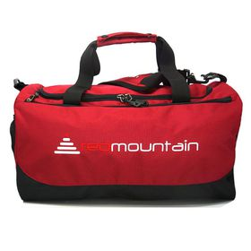 Red Mountain Getaway 20 Deluxe Sports Bag - Burgundy