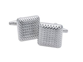 Art Jewellers Stainless Steel Gents 16.2mm Square Cufflinks
