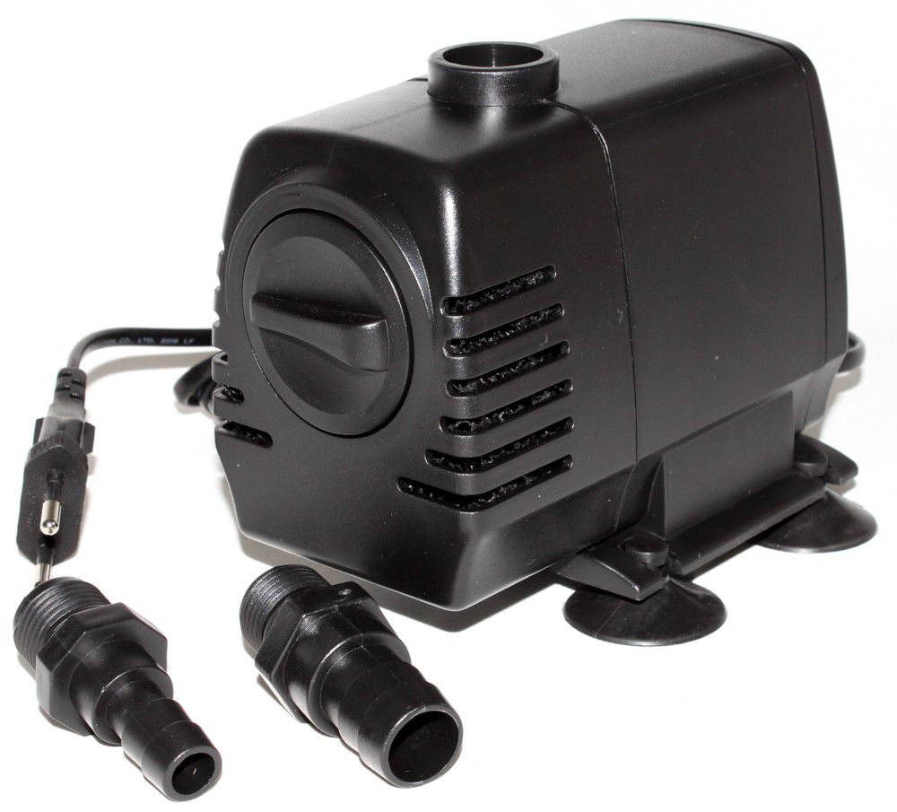 Waterfall pumps waterfall submersible inline pond or for Pond waterfall pump
