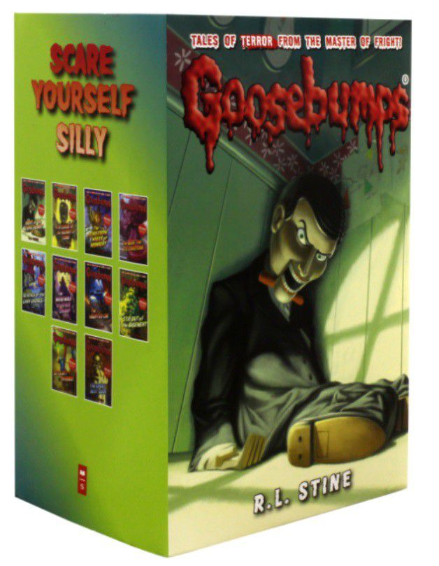 Goosebumps series scare yourself silly series 10 books collection fandeluxe Gallery