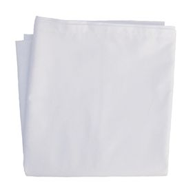 Hotel Collection - 144TC Flat Sheet - White