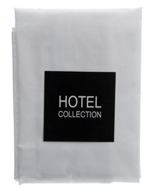 Hotel Collection - 144TC White Pillow Case - American