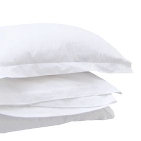 Hotel Collection - 200TC White Pillow Case - American
