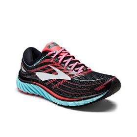 Brooks Women's Glycerin 15 Running Shoes - Black, Island Blue & Diva Pink