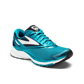 Brooks Women's Launch 4 Running Shoes - Teal Victory, White & Black