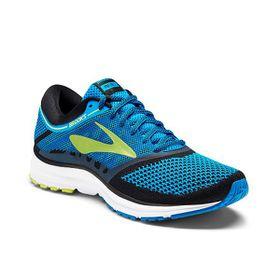 Brooks Men's Revel Running Shoes - Methyl Blue, Lime Popsicle & Black