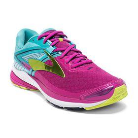 Brooks Women's Ravenna 8 Running Shoes - Very Berry, Aqua Splash & Lime Punch