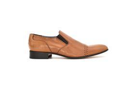 Barker Men's Formal Slip On Shoe - Tan