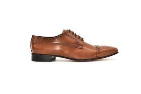 Barker 17607 Men's Lace Up Shoe - Honey