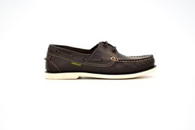 Men's D916 Docksiders Shoe - Dark Brown
