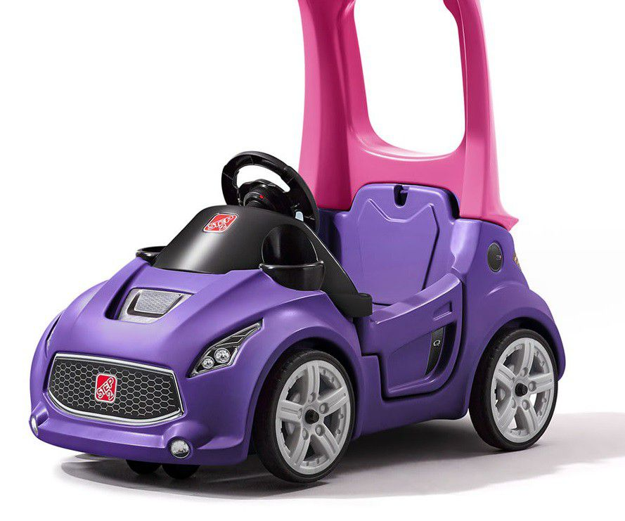step 2 turbo coupe push car for kids
