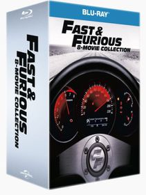 Fast & The Furious 1-8 Boxset (Blu-ray)