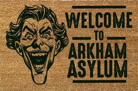 Joker - Arkham Door Mat (Parallel Import)