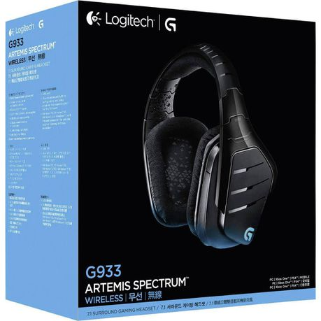 Logitech: G933 Artemis Spectrum Wireless 7 1 Surround Gaming