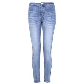 Quiz Womens Mid Blue High Waist Skinny Jeans