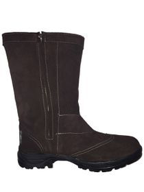 f6f1b9d8eaf Carbon SA Dark Brown Ugg Style Boots - Dark Brown