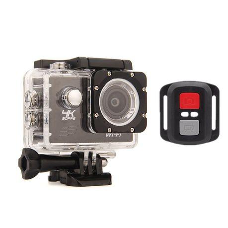 1990e6ea9c4 4K Action Camera - Sports HD Wifi - Black