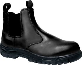 Dot Safety Shoe Boot - Chelsea Black