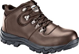Dot Safety Shoe Boot - Hiker Brown