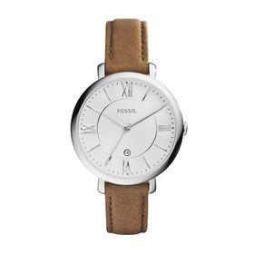 Fossil Ladies Jacqueline Brown Leather Strap Watch - ES3708