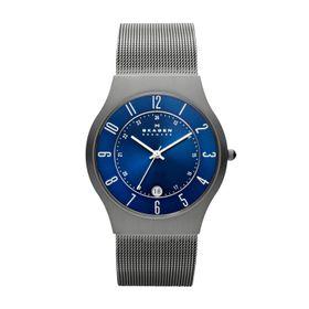 Skagen Men's Grenen Grey Stainless Steel Strap Watch - 233XLTTN