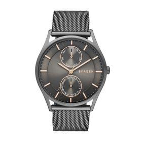 Skagen Men's Holst Grey Stainless Steel Strap Watch - SKW6180