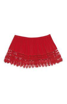 Crochet Tube Top - Red